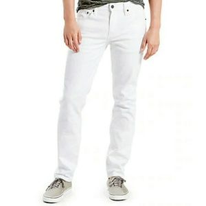 Men's Gap Slim Fit White Jeans 36/32